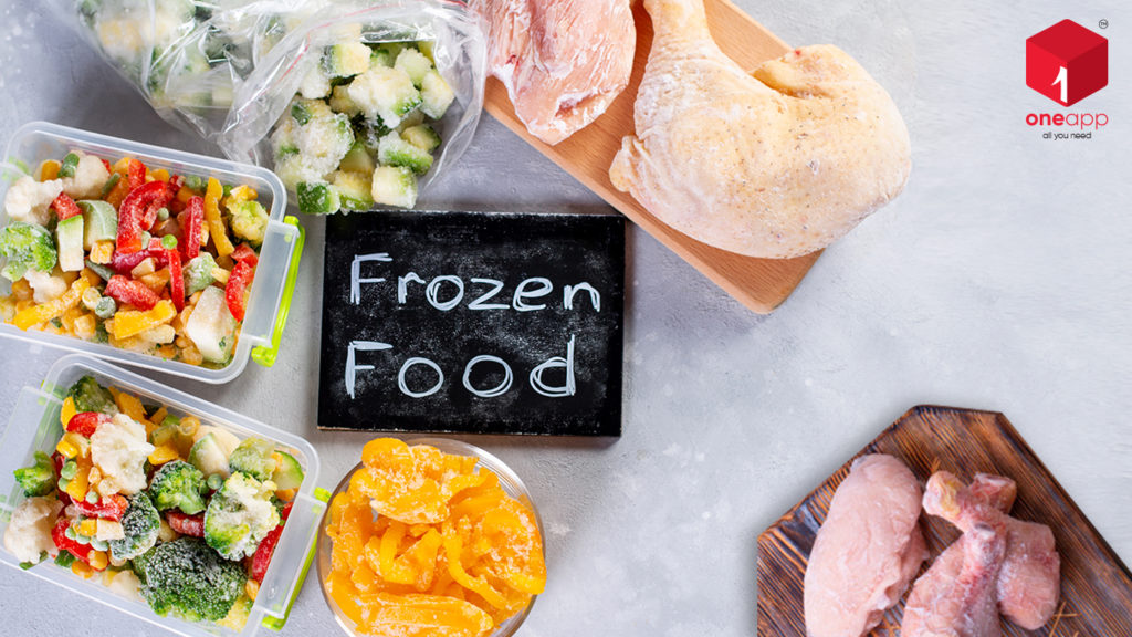 benefits of frozen food, frozen food facts, frozen foods list